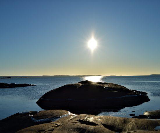 Solrik dag på Glufsa, Kråkerøy