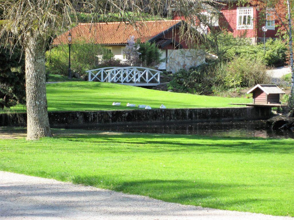 En langweekend på Thorskogs Slott i Sverige gjør inntrykk - Fra parkanlegget