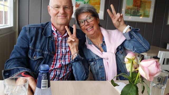 Tor og Mette på Skipperstua i Drøbak. Gammel kjærlighet ruster ikke
