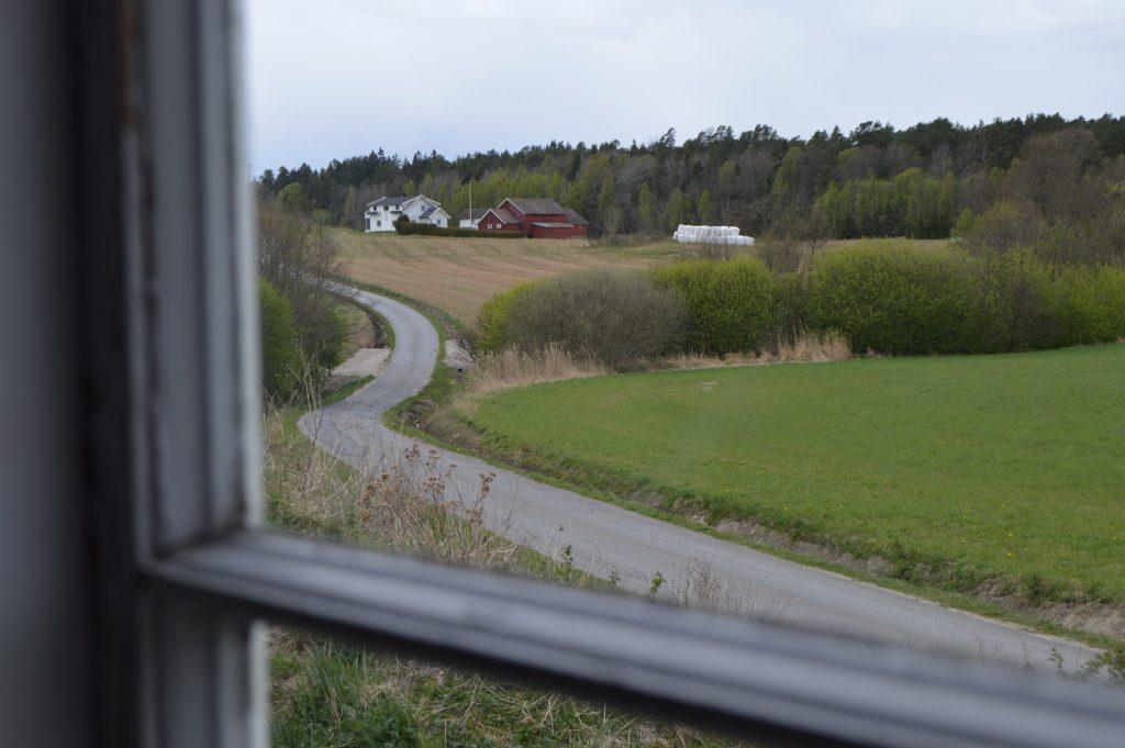 Lykken var å ha en farmor som kokke på Solhaug feriekoloni - opp mot gården til Anton, famors beiler
