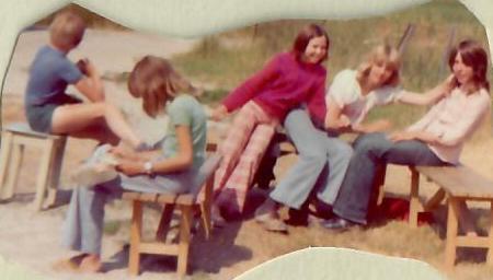 Lykken var å ha en farmor som kokke på Solhaug feriekoloni - Foto 5: Barn på Solhaug feriekoloni på 1970-tallet