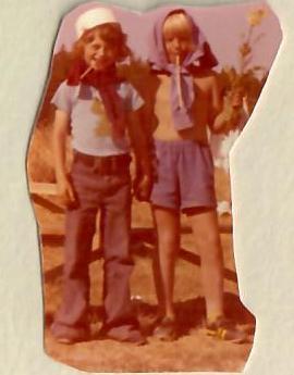 Lykken var å ha en farmor som kokke på Solhaug feriekoloni - Foto 6: Barn på Solhaug feriekoloni på 1970-tallet