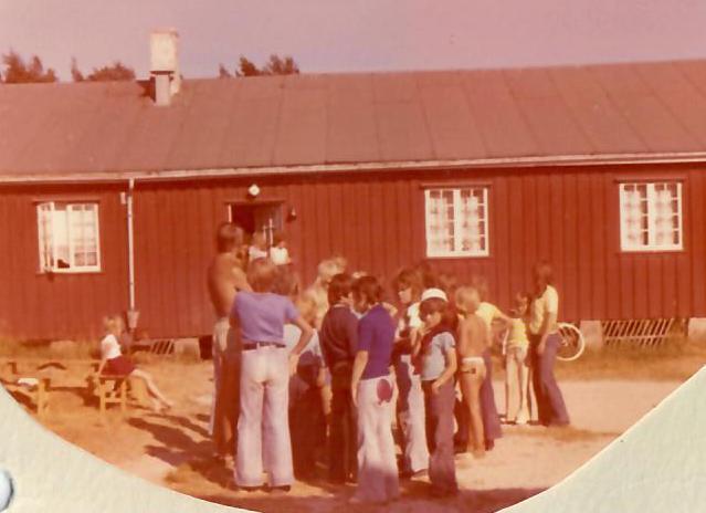 Lykken var å ha en farmor som kokke på Solhaug feriekoloni - Foto 4: Barn på Solhaug feriekoloni på 1970-tallet