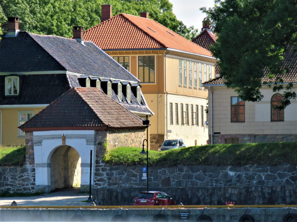 Gamlebyen sett fra byferga, Fredrikstad