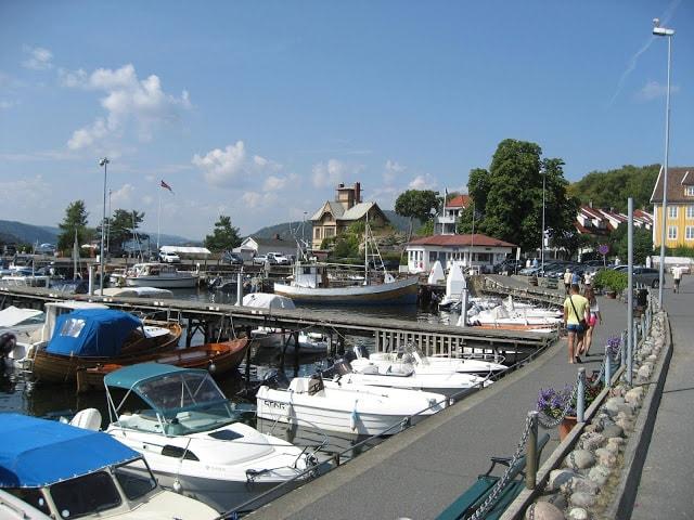 Båthavna i Drøbak
