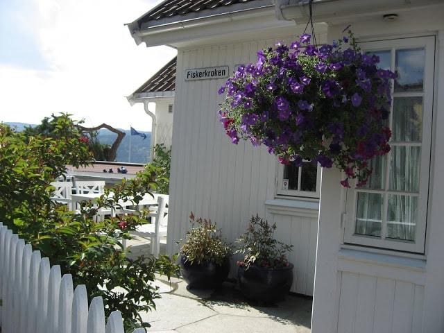Detalj fra et hus i Fiskerkroken, Drøbak