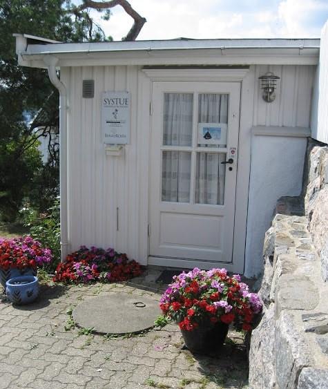 Systuen tilhørende huset i Fiskerkroken, Drøbak