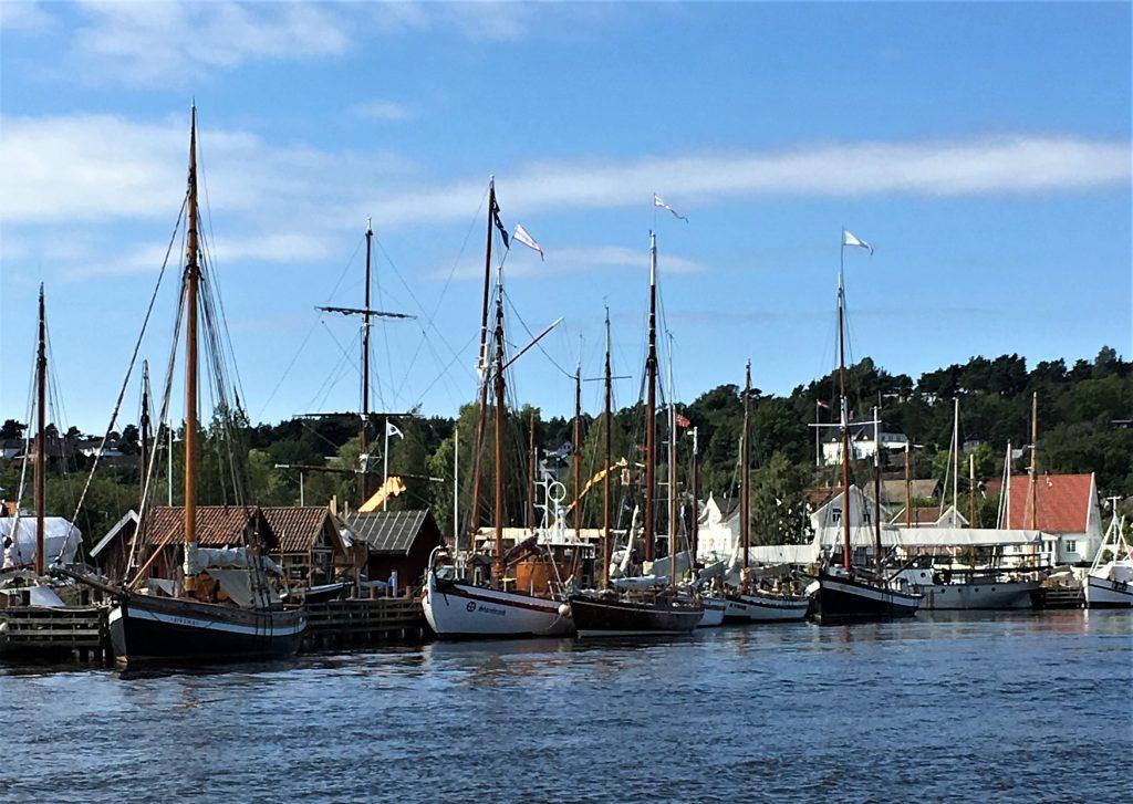 Båter på Isegran, Kråkerøy, Fredrikstad