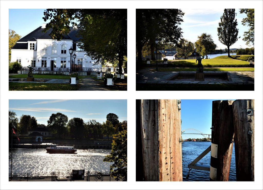 En duft av et kulinarisk Frankrike på Kafé Øks, Fredrikstad - Kollasj av Østfold Kunstsenter og områdene rundt