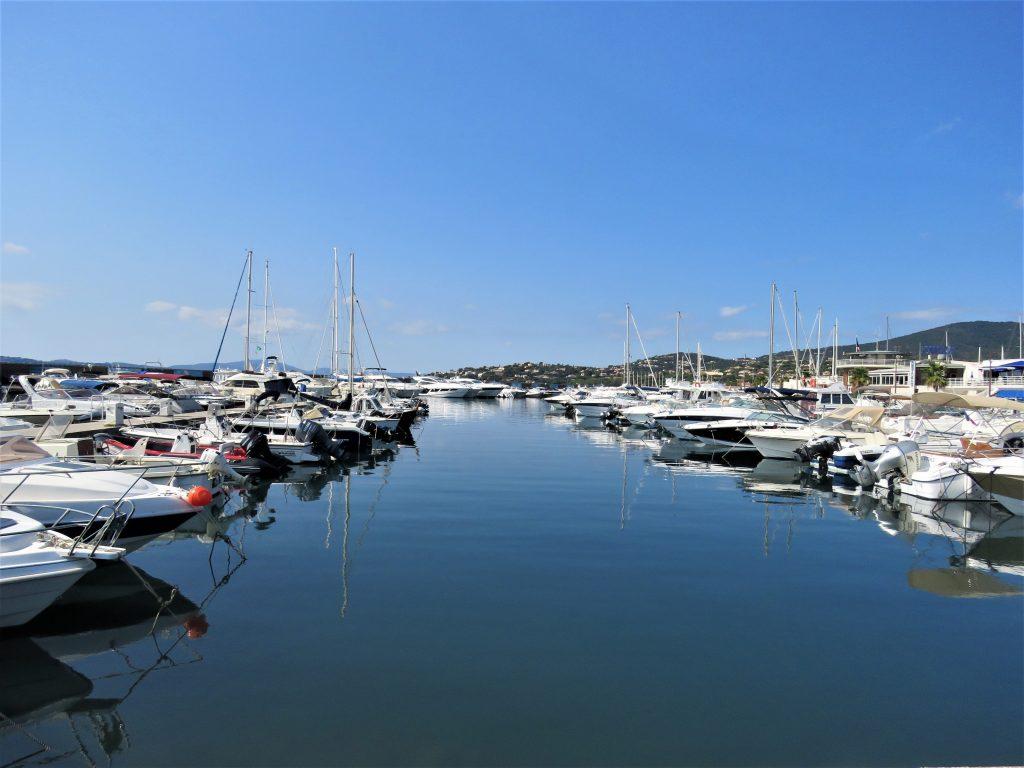 Mitt første møte med Sainte Maxime på den franske riviera - Båthavna