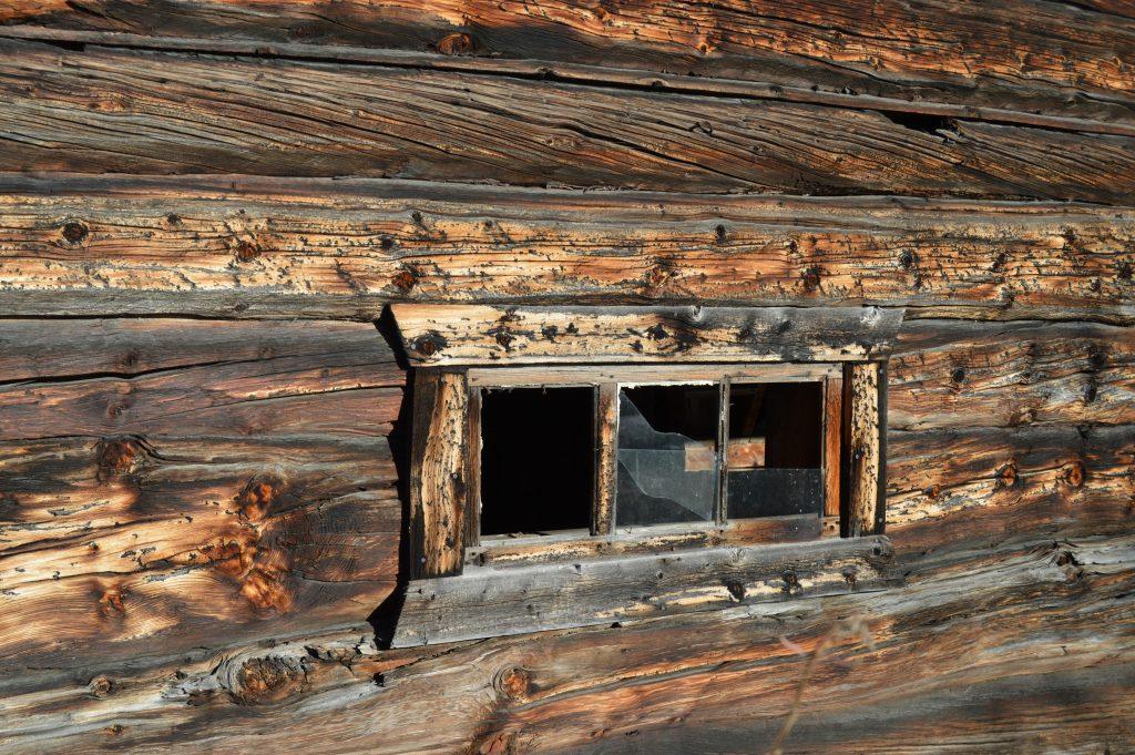 Norges kulturarv - Laftet tømmervegg - Beitostølen