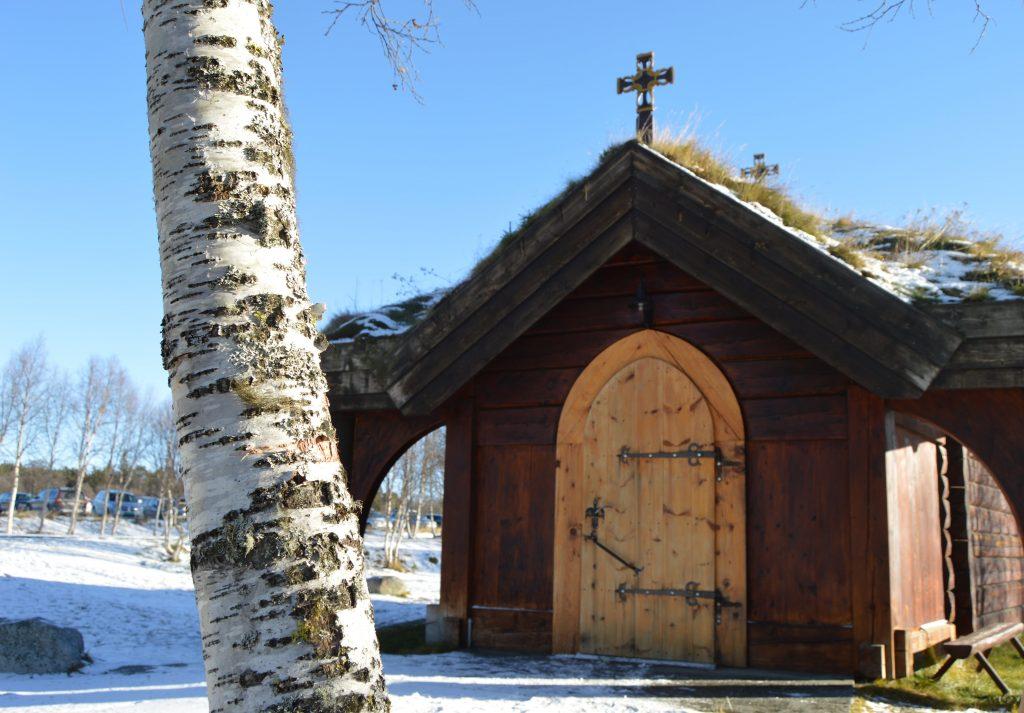 Inngangspartiet til Lyskapellet, Beitostølen
