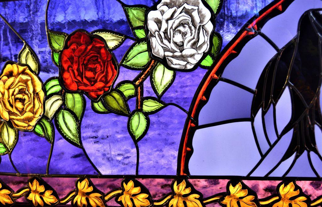 Foto4: Glassmalerier i Lyskaptellet, Beitostølen