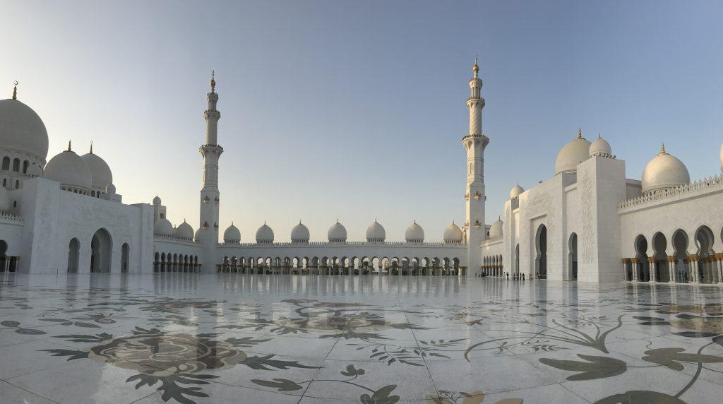 Moskébesøk i Dubai