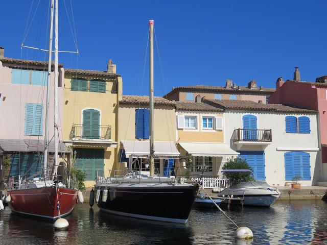 Hus i Port Grimaud