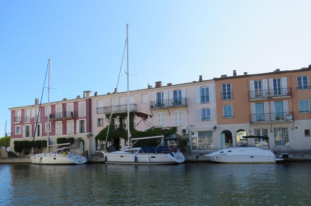 Port Grimaud - Båter og herlige hus i kanalen