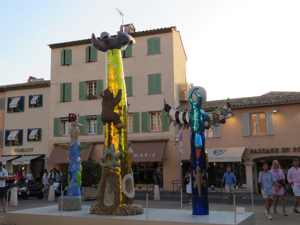 Kunstuttrykk St. Tropez