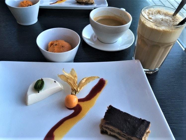 Smakfull dessert i Kastellet, mandal
