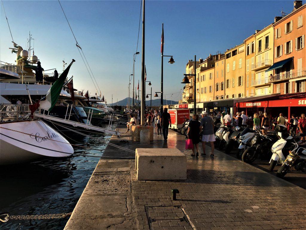 Langs bryggene i St.Tropez