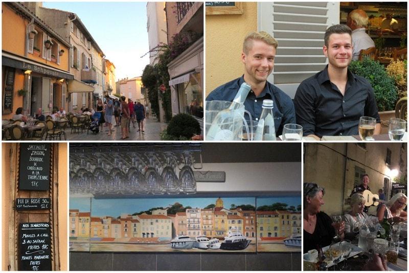 Le Schpountz spisested i St.Tropez