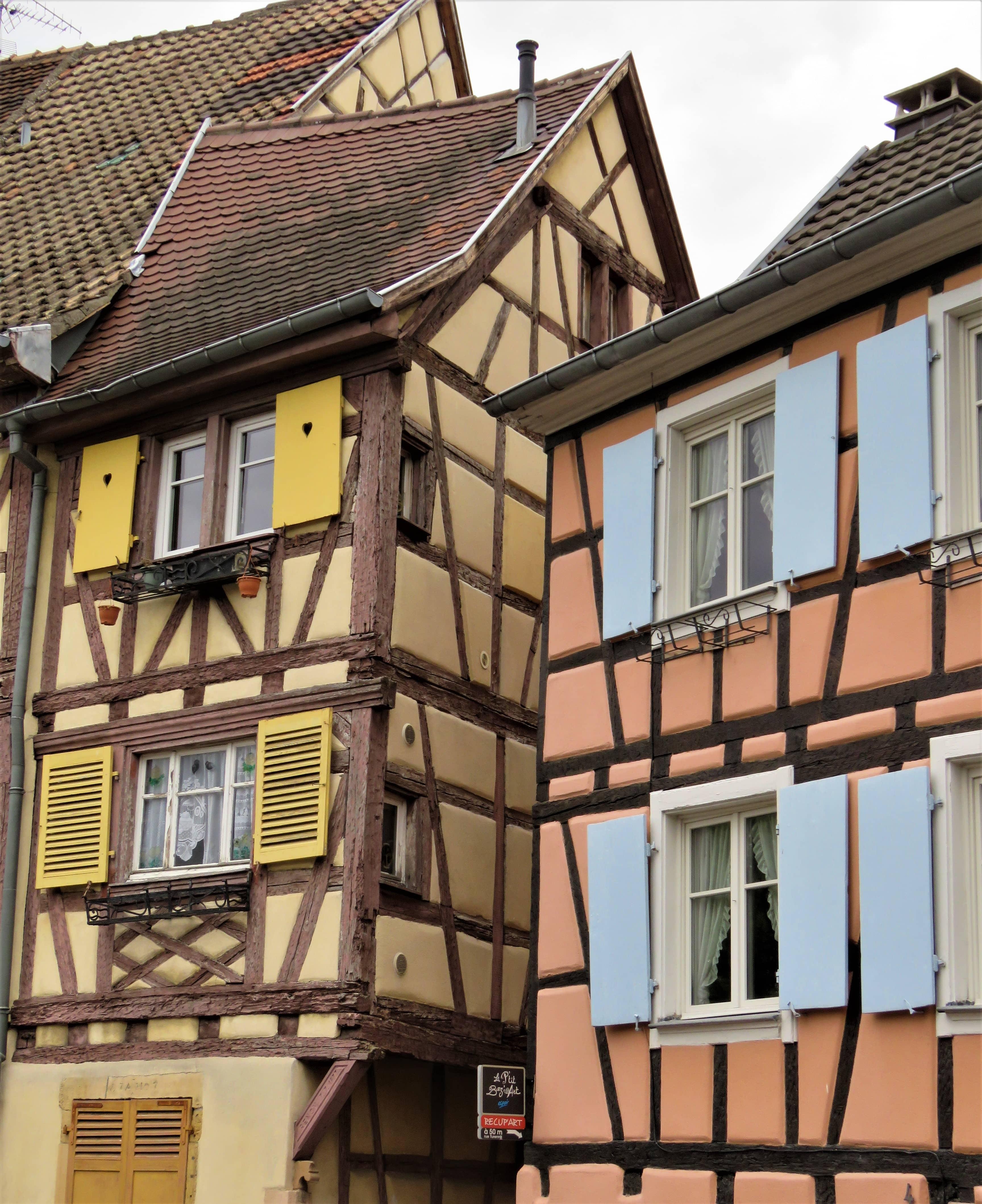 Bindeverkshus i Colmar
