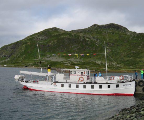 B/M Bitihorn som fraktet oss fra Bygdin til Torfinnsbu