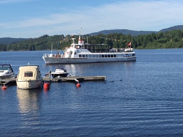 MS Telemarken - slusebåten. Foto 2