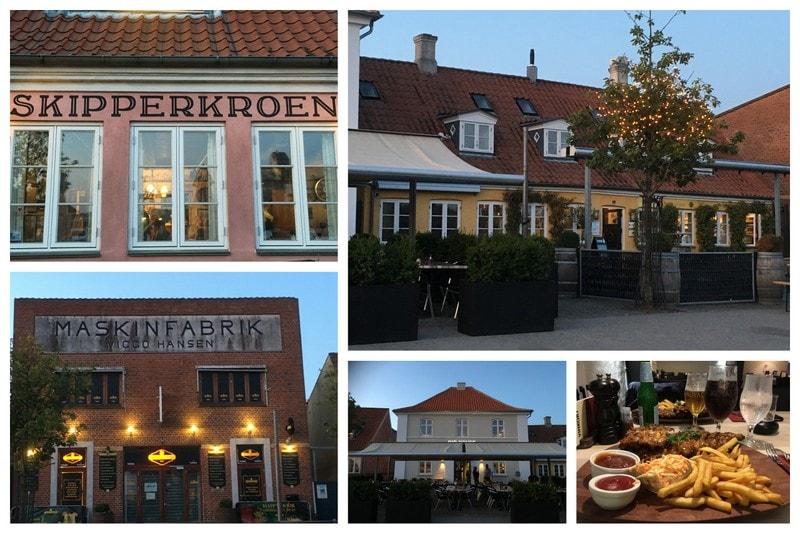 Køge i Danmark - jeg lot meg sjarmere - Spisesteder i Køge