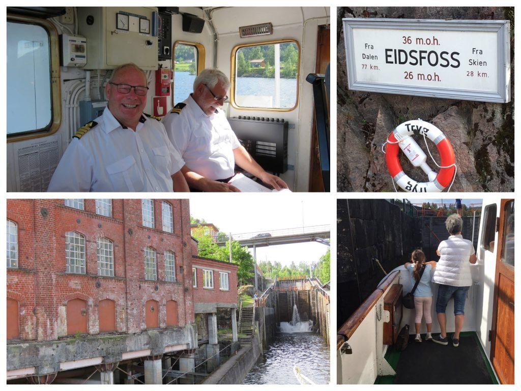 Kapteinen og andre detaljer fra MS Telemarken