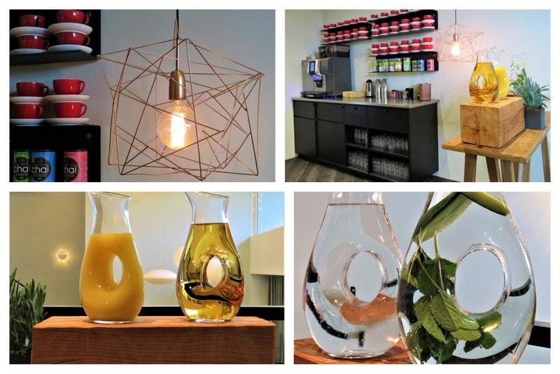 Fristende kaffe-/juicebar på Comwell Køge Strand Hotell