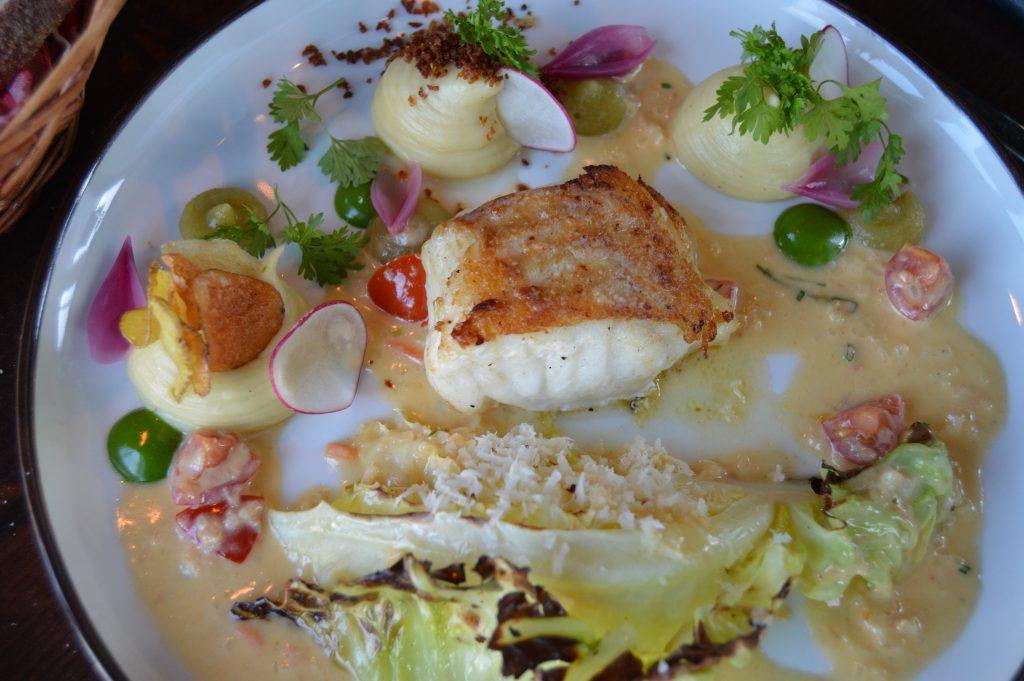 Attraksjoner i Fredrikstad - Fiskerett på restaurant Slippen