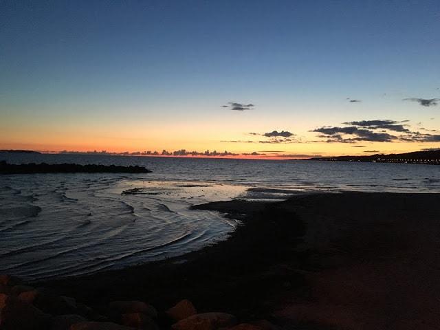 Utsikt fra Sillen ovh Makrillen i Helsingborg