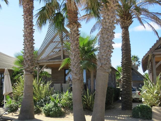 I Port Grimaud finner du den franske rivieras flotteste strand - en av bungalowene på stranden