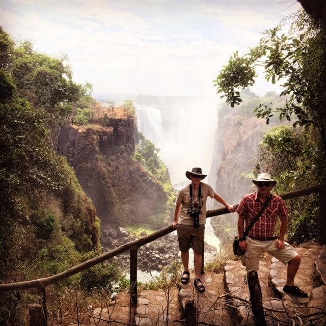 Gjestebloggeren m.fl. Victoria Falls - Rafting