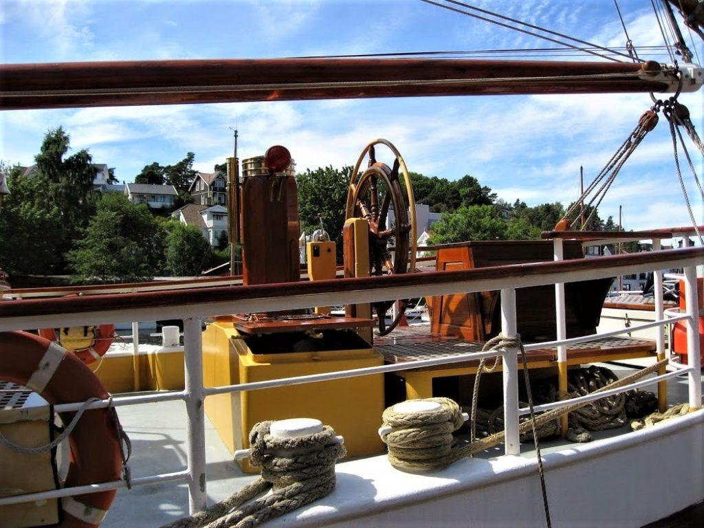 Detalj fra en båt - Tall ships races