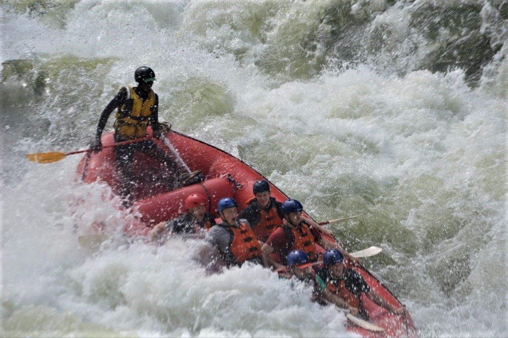 Foto 1 av Rafting - Victoria Falls
