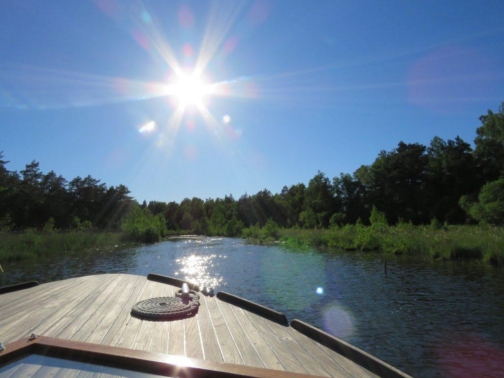 Trolske båtturer i Gränna - fantastisk vær
