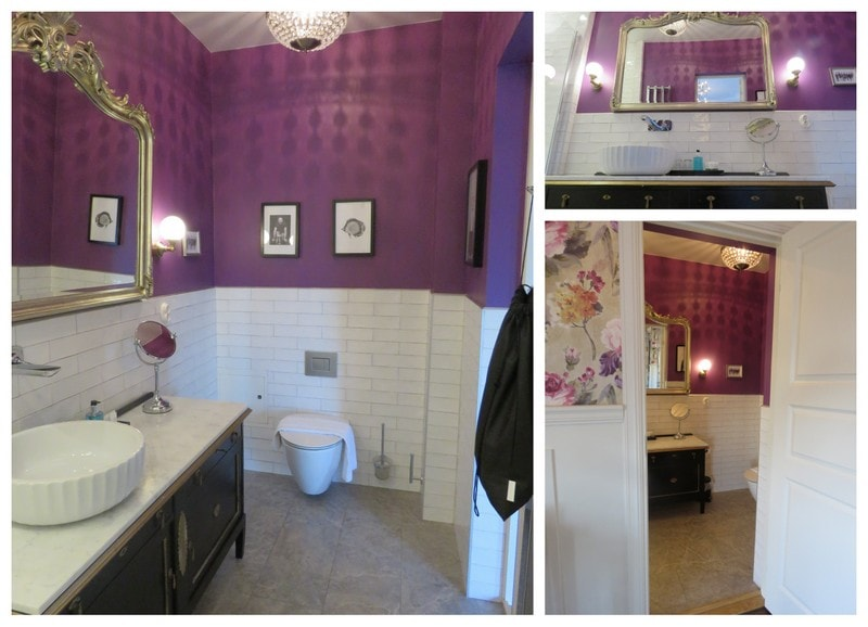 Det delikate og lekre badet på Grenna hotell, Småland