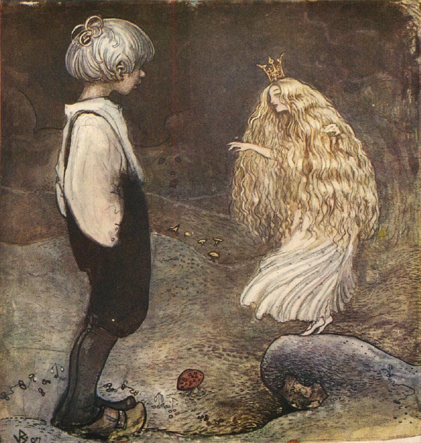 Maleri av John bauer