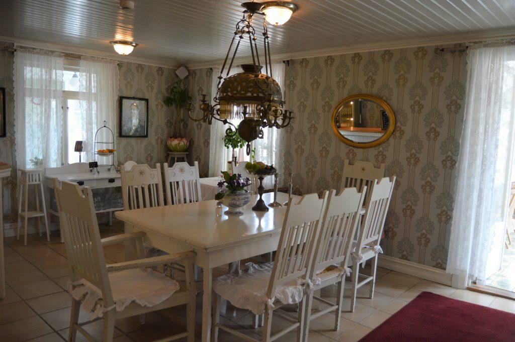 Spisesalen hos Strandflickorna, Lysekil