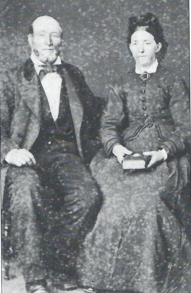 Gina Marie og Peter Arent i 1884 på Svinør-Hammerøy