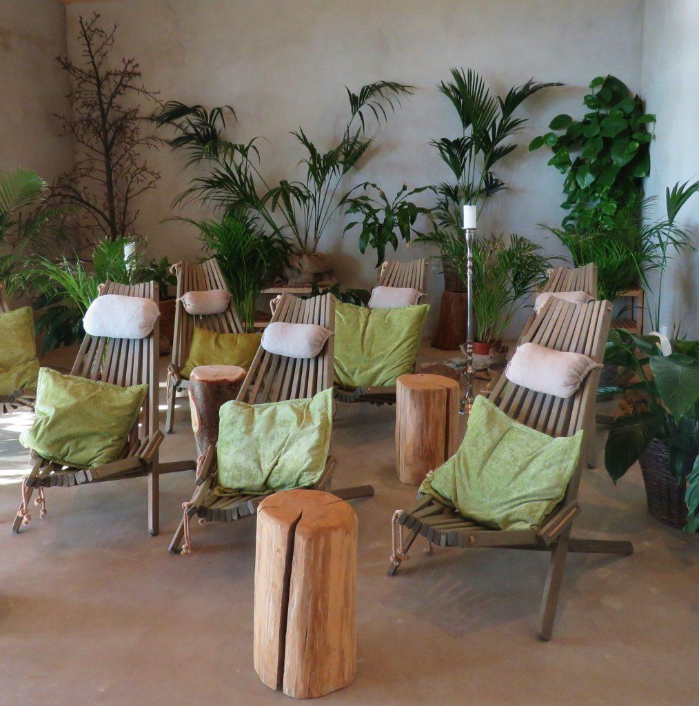 Relax-rommet Regnskogen i Uppgrenna Naturhus