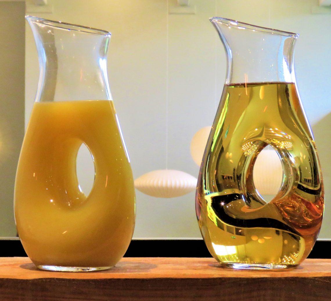 Kaffestasjon med juice på Køge Comwell Hotell