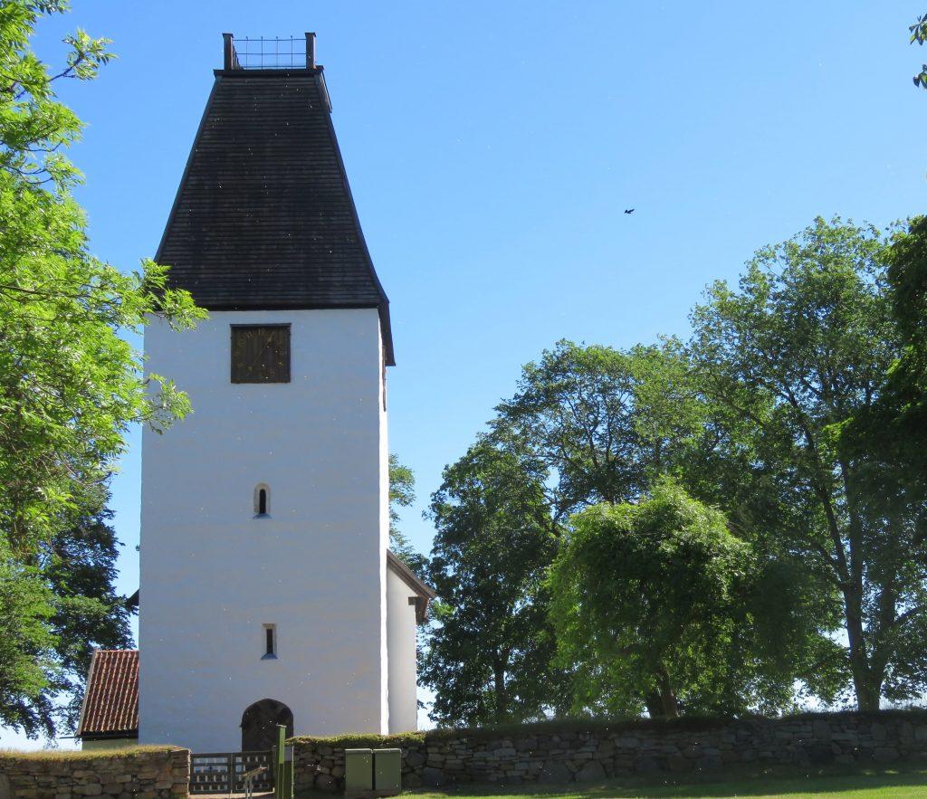 Kumlaby kirka fra 1100-tallet