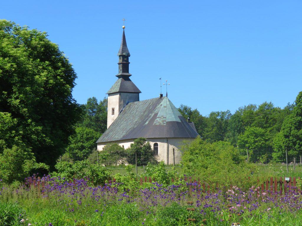 Brahe-kirken som fungerte som slottskirke til Visingsborg slott