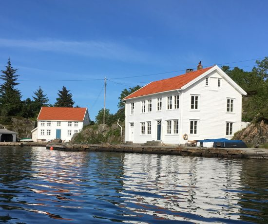 Tollboden på Svinør-Hammerøy tilhørte Gina Marie på slutten av 1800-tallet