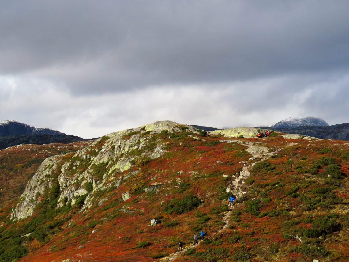 Beitostølen - høsttur i fjellet. Maken til høstfarger er det lenge siden jeg har sett