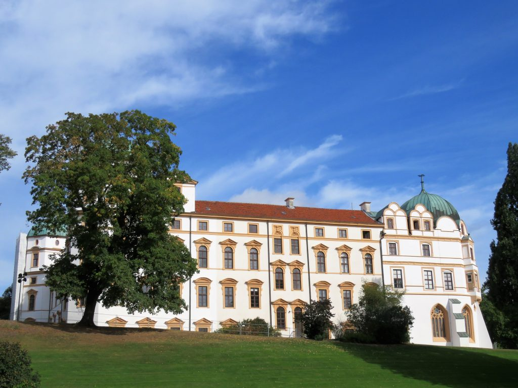 Er Celle i Tyskalnd et eventyr. Slottet. Urbantoglandlig