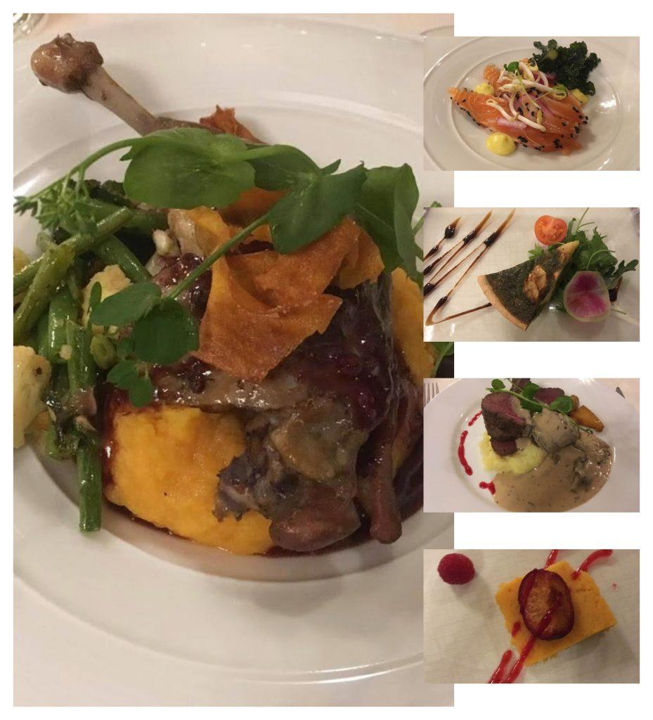 Bo på hotell på Beitostølen - kollasj av det herligste matretter