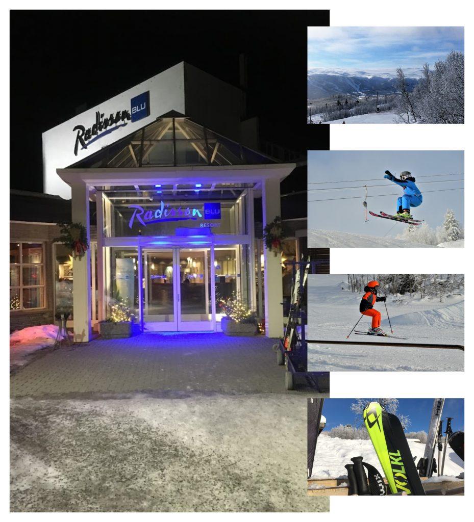 Bo på hotell på Beitostølen - Med slalombakken på andre siden av veien